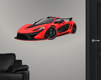 Cars Wall Decal Etsy - Wall decals cars