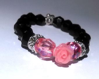 Little Girls Flower Bracelet