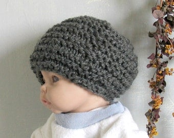 Baby Hat, Charcoal Weave,Newborn Photography Prop Newborn Boy Props Newborn Photo Boy Handmade Newborn  Newborn Photo Outfit Charcoal Hat