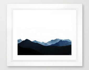 mountain/ artistic photo print / Italian Alps- quality paper