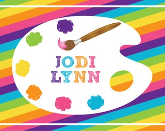 Artist Placemat-Personalized Placemat for Kids