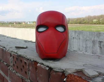 Red Hood Helmet - Fully Finished