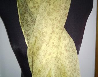 Silk scarf/cowl