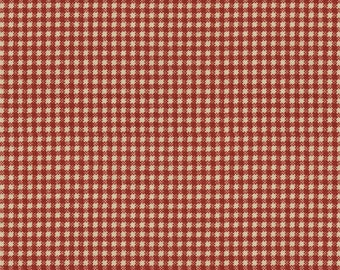 Waverly Check Gingham Country Fair color Red Fabric Printed Decorative