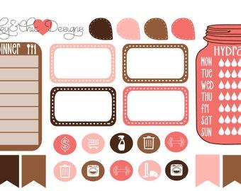 EC/THP Planner Stickers Mini Set