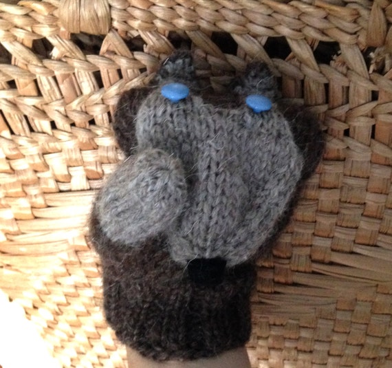 Husky Mittens PDF Knitting Pattern Cute Dogs Gloves from CoolKnitters on Etsy...
