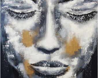 artLigne  Portrait black & white XXL