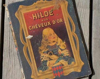 "Book ""Hilde Golden-haired"" Catherine Fontanes 1950 vintage"