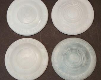 Boyd Milk Glass Canning Lid Set