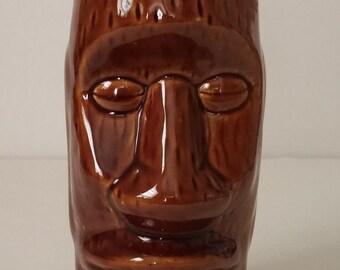 Easter Island Tiki Glass 14oz