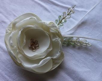 Bridal Hair Flower, Bridal Hair Accessory