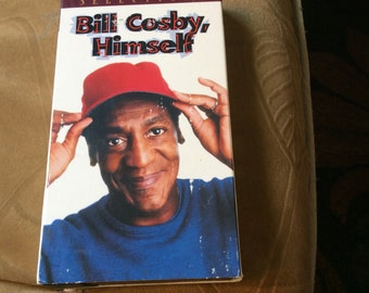 Bill Cosby Himself- vhs- stand up comedian