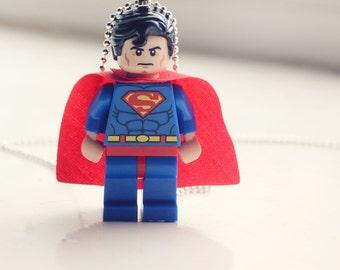 lego superman necklace