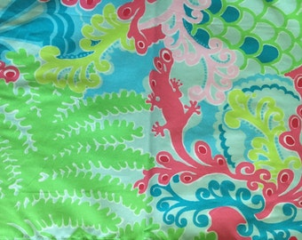 Checking in Blue Lilly Pulitzer *SALE* Fabric