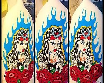 Lady Luck vase