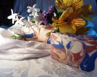 Spring Meadow  soap with Greek Yoghurt
