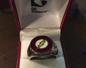 Barry Allen The Flash Costume Ring cw / tv / dc size 10