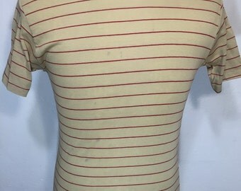 70's vintage striped t shirt mens size small
