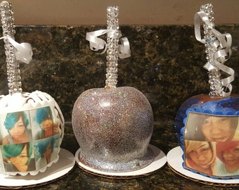 Edible Image Caramel Apples