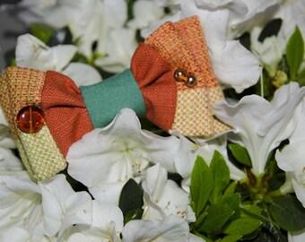 Bow tie orange Papilau
