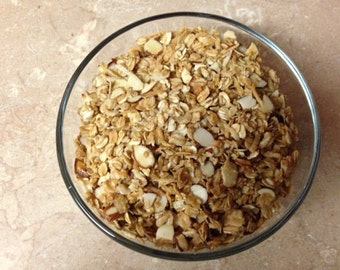1 lb of Delicious Homemade All Natural Granola