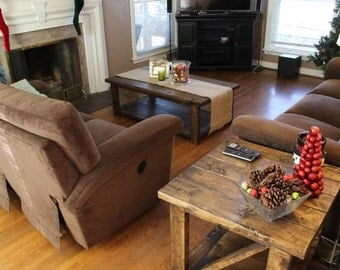 Rustic Coffee Table/End Table Set