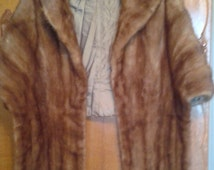 Mink Fur Stole from Marstons