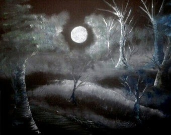 Original: The hiding forest-of the hidden forest oil painting on canvas