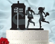 Hurry to the Tardis UPDATED Dr Who Inspired Wedding Cake Topper