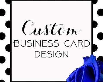 Custom Printable Business Card, Custom Design, Printable, Business Cards