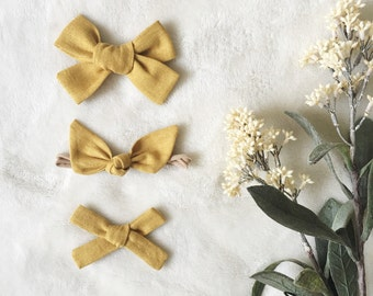 GOLDEN - Fall Linen Solids | Select Style