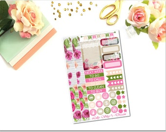 HP013 Wooden Floral HP Kit on 1 Page