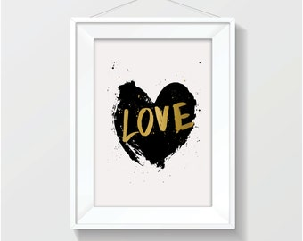 LOVE ~ A4 Digital Print