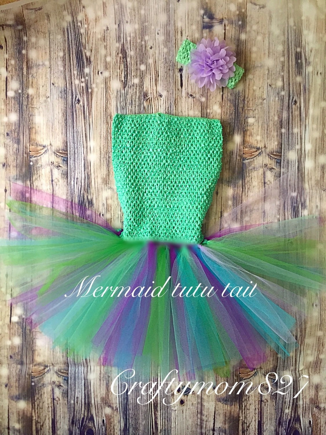 Halloween Mermaid Tail