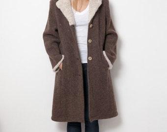 giesswein vintage wool coat