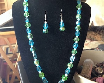 Necklace, Earrings & Bracelet Set