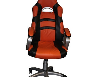 Recaro Reclining Orange Bucket Office Luxury Chair