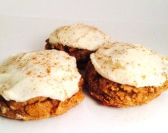 Low Carb Cinnamon Roll Cookies, Gluten Free, Buttercream Frosting, Low Sugar, High Protein, Low Calorie, Diabetic Friendly