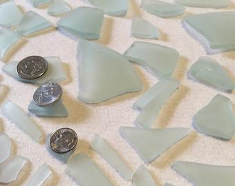 Sea Glass - sea foam green