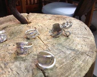 Custom Silverware Rings
