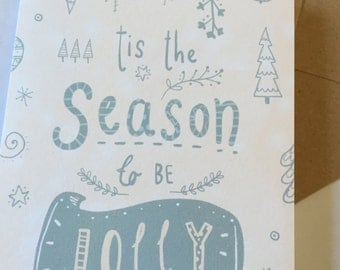 Tis the Season to be Jolly Christmas Cards