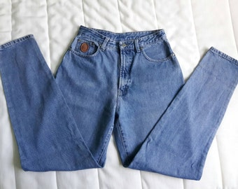 TRUSSARDI JEANS Blue Denim Jeans mom's jeans