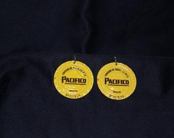 Pacifico Bottlecap Earrings