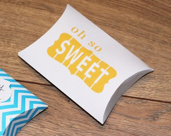 Candy Boxes - set of 5 - Oh So Sweet