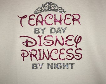 Personalized Teacher / Disney Princess