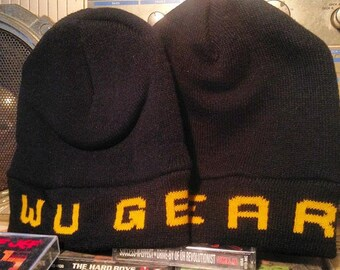 WU WEAR wu tang wu gear skully beanie vintage NEW from the 90s throwback!!!
