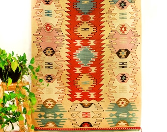 Turkish Handwoven Kilim Rug