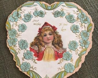 Beautiful Victorian valentine