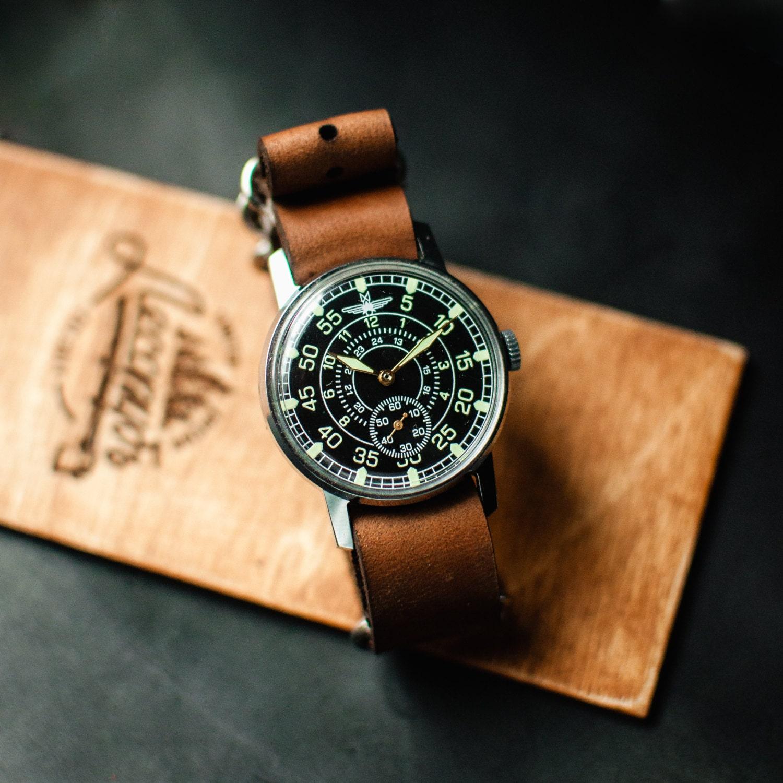ussr zim aviator mechanical wrist by trulesorub