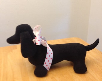 Dachshund / Doxie / Handmade gift:   Blackie the Doxie